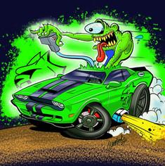 Challenger Monster.