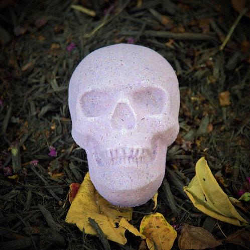 Lavender Skull Bath Bomb