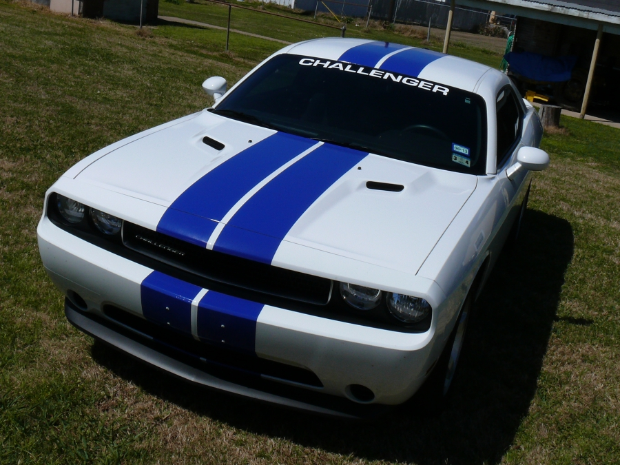Challenger Blue Stripes