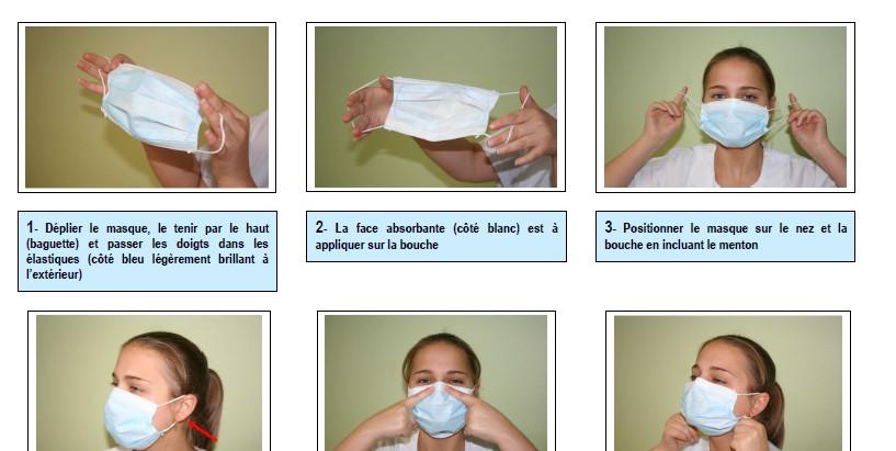 Conseils port du masque