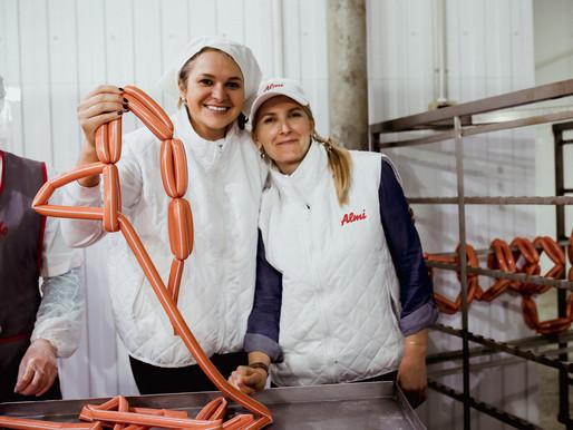 """Бизнес-экскурсия на мясной заводик """"Плотниково"""""""
