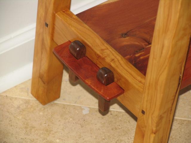 Rustic Stickley Sofa Table 2.JPG