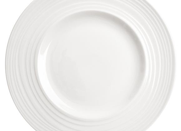 "Divitis INFINITY Bone China Dinner Plate 11"", 4 pcs"