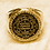 Thumbnail: 22K The Great Seal Ring of Solomon King handmade Gold 22K