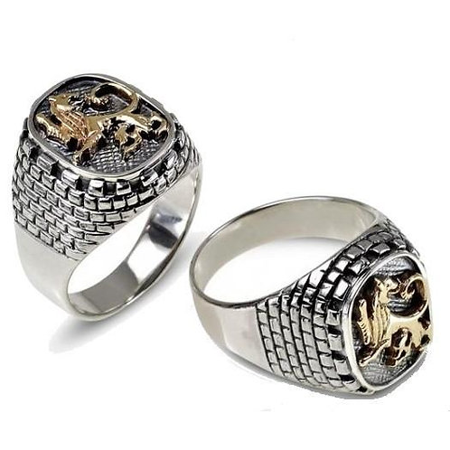 LION OF JUDAH INSIGNIA RING
