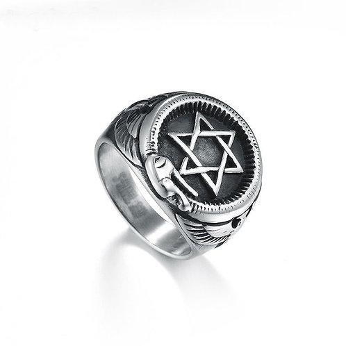 Solomon Ring Magic Snake handmade Silver .925