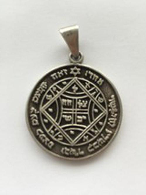 Solomon Pentacles for Love handmade Silver .925