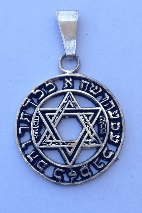Star of David handmade Silver .925