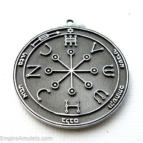 6th Pentacle of Mars Handmade silver .925