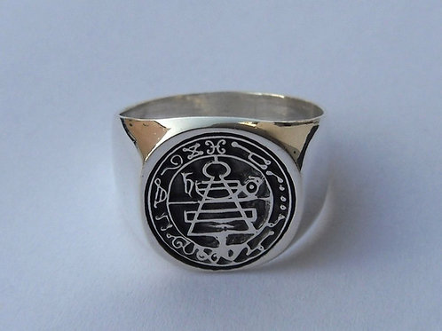 Secret Seal of Solomon Ring King handmade Silver .925