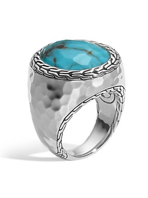 Silver Turquise Ring