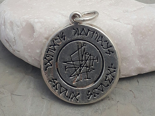 Four Archangels Medal handmade silver .925