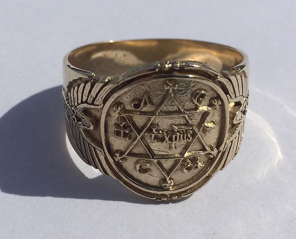 King Solomon Ring of Gold