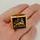 Thumbnail: Lion of Judah Ring handmade Gold 10K