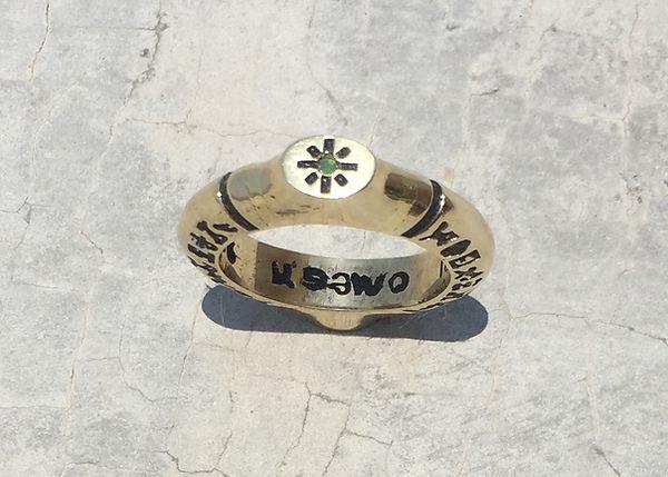 Saint Cyprian Gold Ring