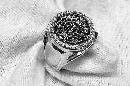 The Great Seal Ring of Solomon King handmade Silver .925