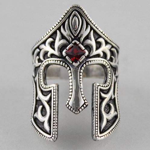 Spartan War Ring handmade Silver .925