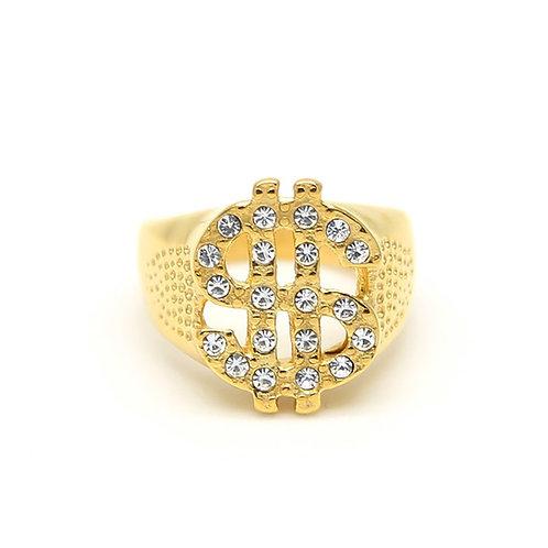 Money Ring handmade Gold 10K