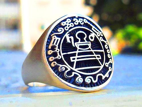 Seal Ring of Solomon Gold 10K Supertition
