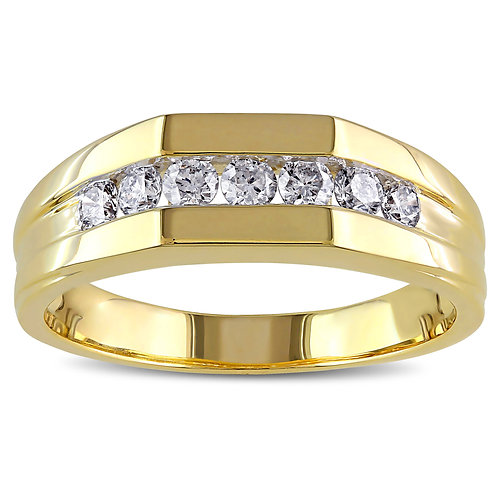 Home Ring Gold 10K With Diamonds