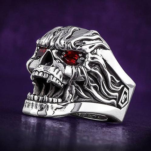 Skull Ruby Ring
