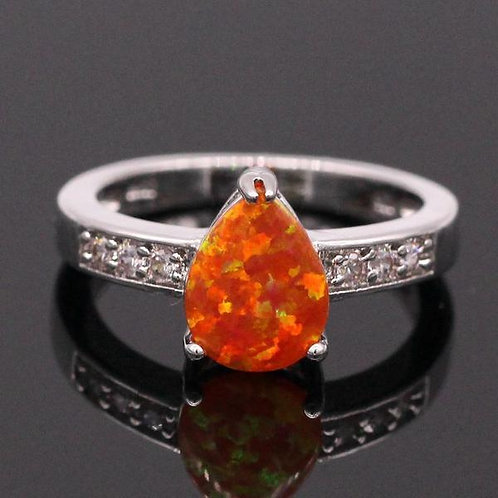 Fire Opal For Women Engagement or Wedding