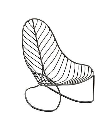 Royal Botania FOLIA Rocking Chair Bronze