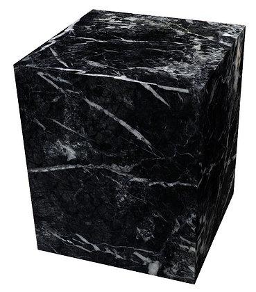 BENJ & SOTO Black Marble Cube