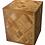 Thumbnail: BENJ & SOTO Wood Cube Parquet