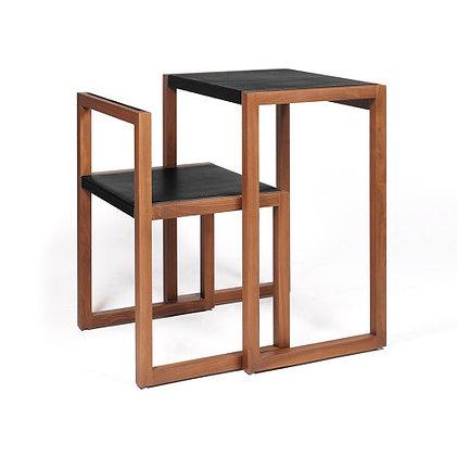 Wildspirit VISA Desk & Chair Customized Oak