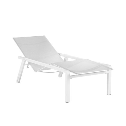 Royal Botania ALURA Lounger White