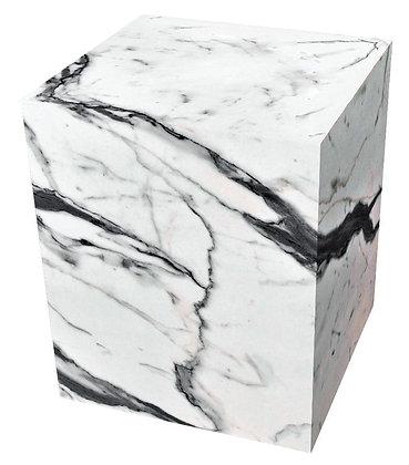 BENJ & SOTO White Marble Cube