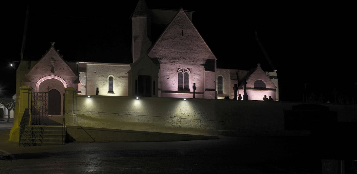 Lighting - Mézidon Church