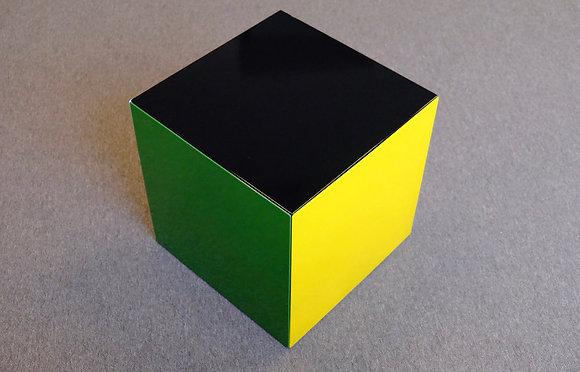Emaillerie Belge Cube SideTable