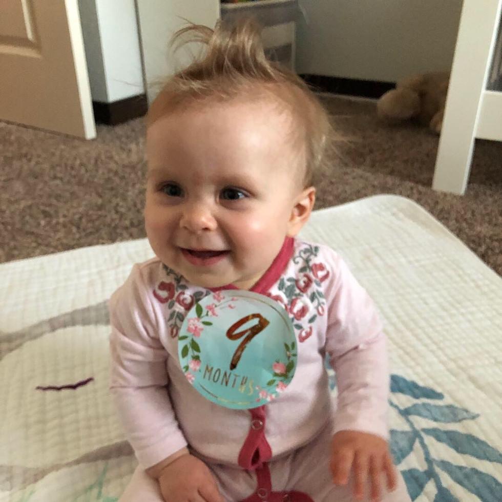 Madeleine - 9 Months