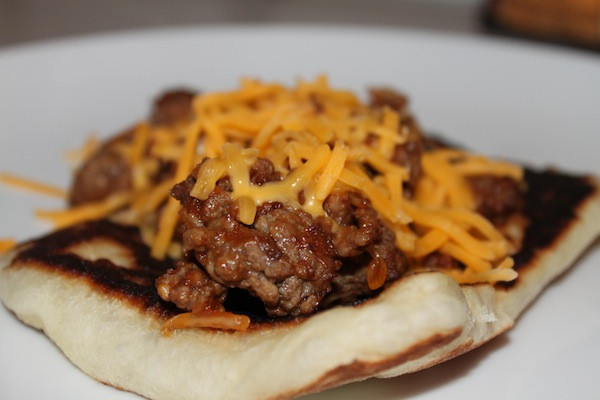 Cheeseburger Flatbreads Melts