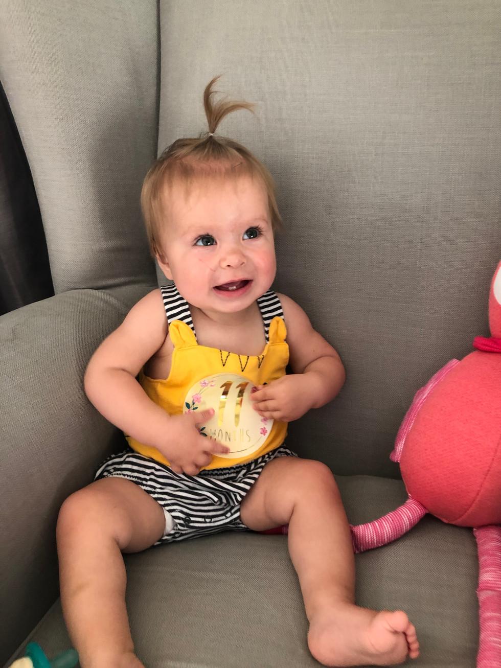 Madeleine - 11 Months