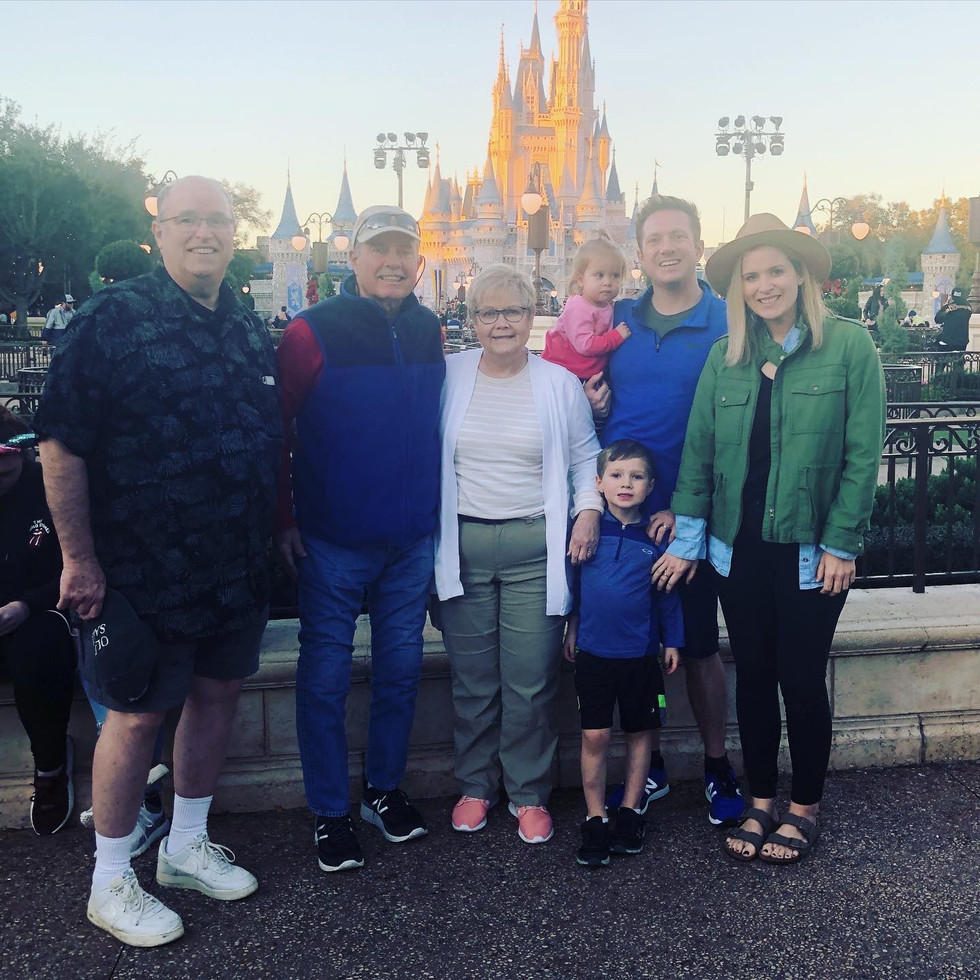 Family Goes to Disney