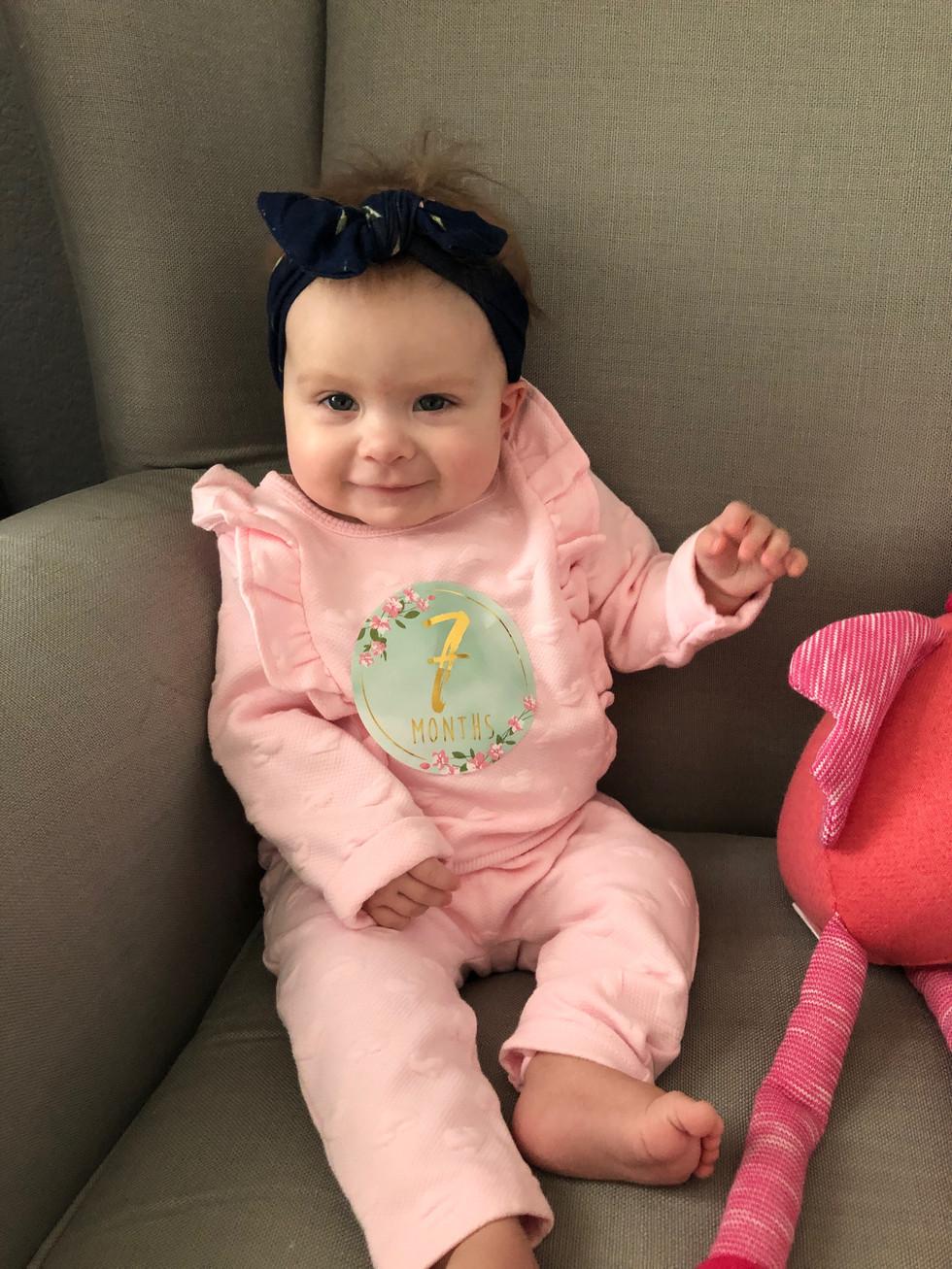 Madeleine - 7 Months
