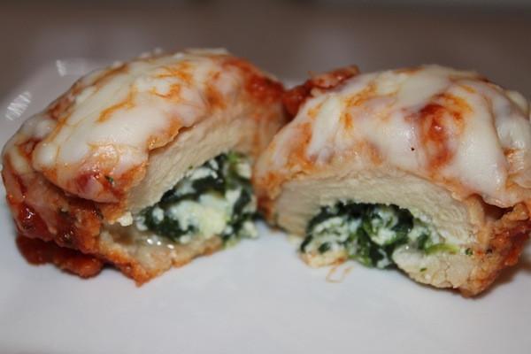 Chicken Rollatini with Spinach allaParmigiana