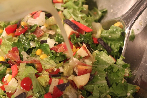 A Summer Chopped Salad