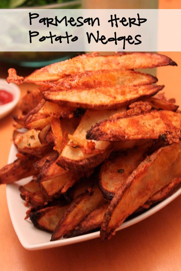 Parmesan Herb Potato Wedges