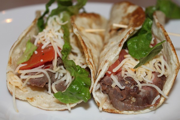 Flank Steak Tacos with Cilantro-Lime Marinade