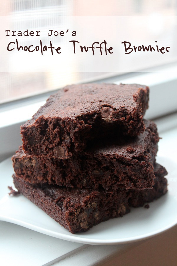 Trader Joe's Chocolate Truffle Brownies