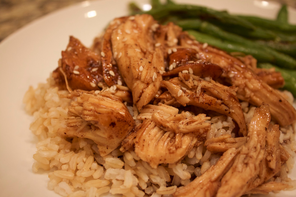 Teriyaki Chicken in a Crock Pot