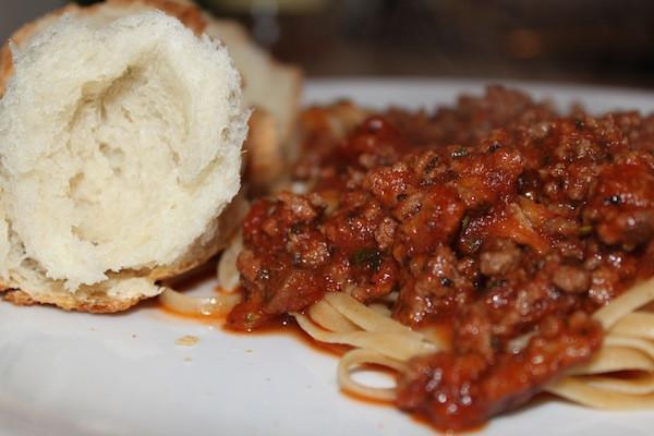 Delicious Pasta Bolognese
