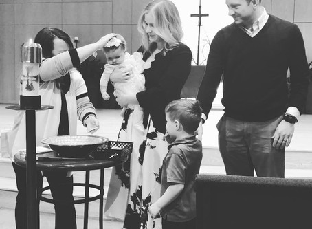 """You are a Child of God"" - M's Baptism"