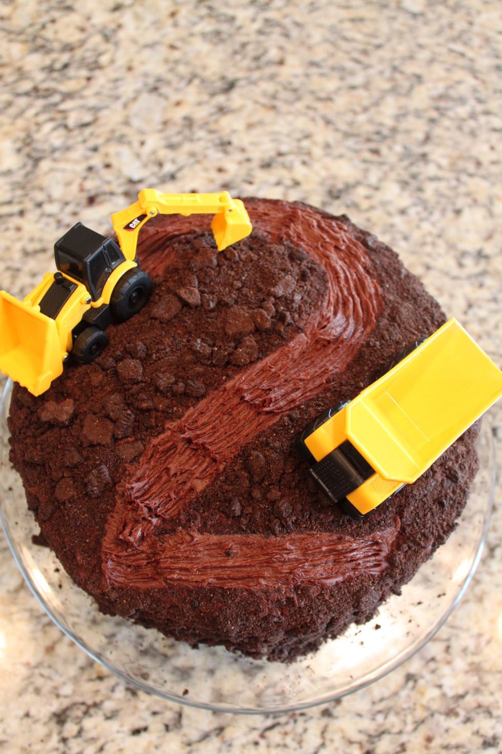 Chocolate Truck Cake