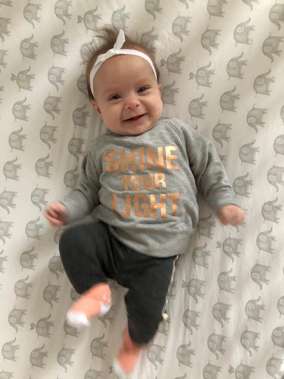 Madeleine - 3.5 Months