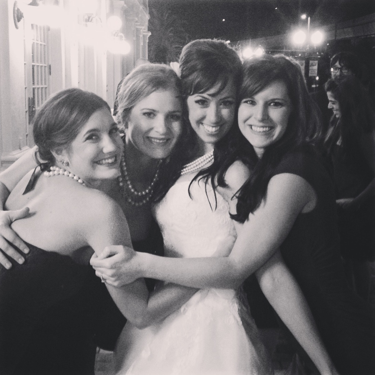 """My sisters remind me, by their very steadfastness, that truth, beauty, and goodness exist in the world."""